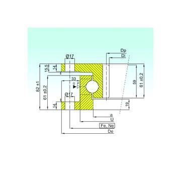 51117 CRAFT Cuscinetti a sfere di spinta