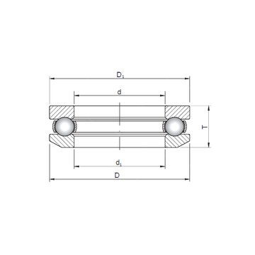 53309 ISO Thrust Ball Bearings