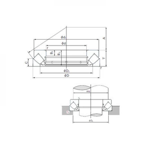 22344VMW33 SNR Cuscinetti a rulli di spinta