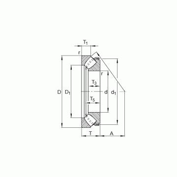 29448-E1 FAG Cuscinetti a rulli di spinta